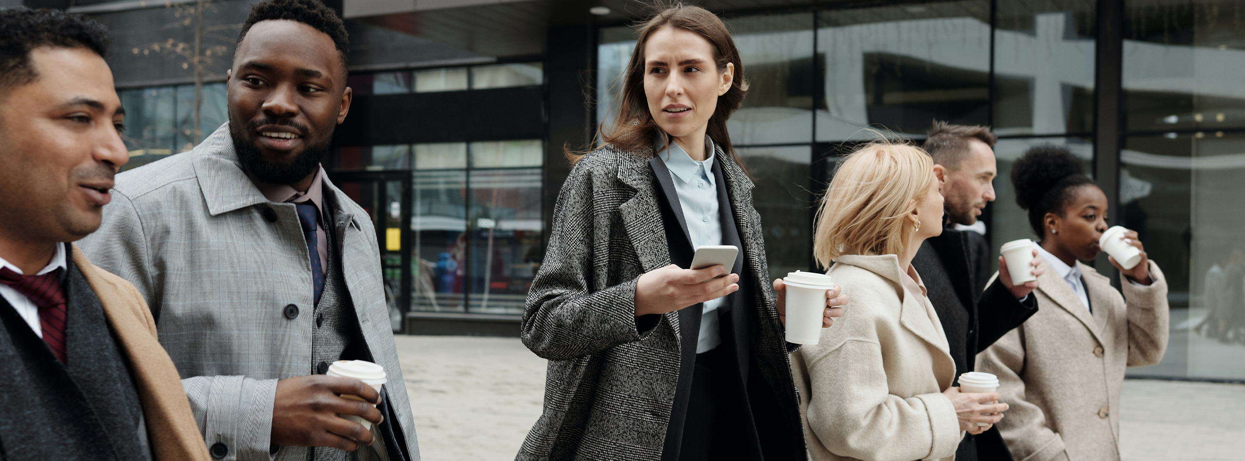 The benefits of walking meetings and food on the go